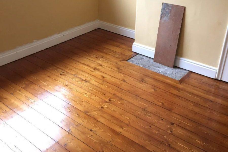 pine floor york